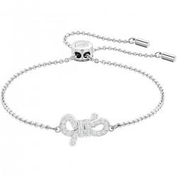 Swarovski 5469983 Armband Damen Lifelong Bow Weiss Silber-Ton