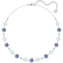 Swarovski 5480481 Halskette Olive Mehrfarbig Silber-Ton Rhodiniert