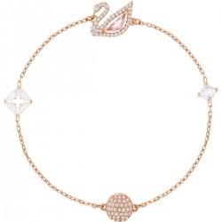 Swarovski Armband Damen Dazzling Swan Mehrfarbig Rosé Vergoldung
