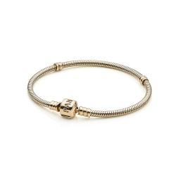 Pandora Gold 550702 Armband 14-K Moments Clasp Bracelet 19 cm