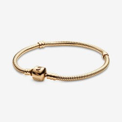 Pandora 550702 Armband Damen Moments Gold Clasp 14-K 585/- Gelbgold