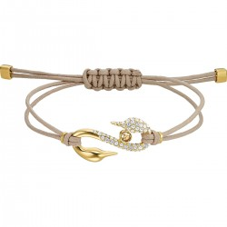 Swarovski 5508527 Armband Damen Power Collection Braun Vergoldet