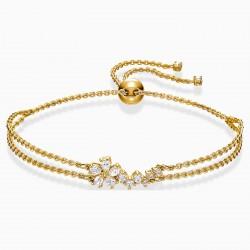 Swarovski 5535790 Armband Damen Botanical Weiss Vergoldet