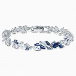 Swarovski 5536548 Armband Damen Louison Blau Silber-Ton