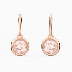 Swarovski 5560932 Kreolen Ohrringe Damen Tahlia Mini Rosa Rosé Vergoldet