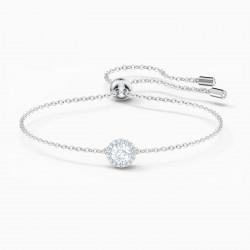 Swarovski 5567934 Armband Angelic Round Weiss Silber-Ton