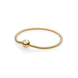 Pandora Shine 567107 Armband Clasp Moments Smooth Silber Gold