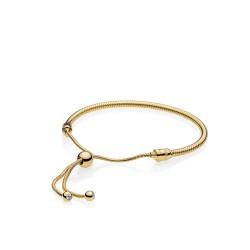 Pandora Shine 567110CZ Armband Moments Sliding Silber Gold