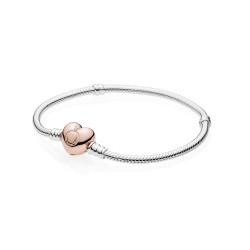 Pandora Rose 580719 Armband mit Herz-Verschluss