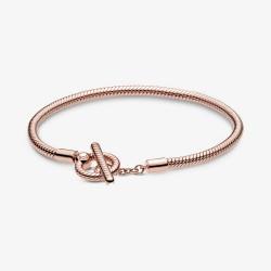 Pandora Rose 589087C00 Schlangen-Gliederarmband T-Verschluss