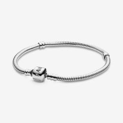 Pandora 590702HV Schlangen-Gliederarmband Moments Sterling-Silber