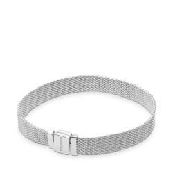 Pandora Reflexions 597712 Armband Damen Mesh Sterling-Silber