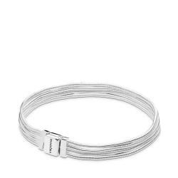 Pandora Reflexions 597943 Armband Damen Multi Snake Chains Sterling-Silber