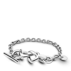Pandora 598100 Armband Knotted Heart Sterling-Silber