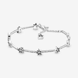 Pandora 598498C01 Armband Damen Himmlische Sterne Silber