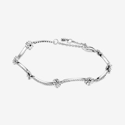 Pandora 598807C01 Armband Funkelndes Gänseblümchen Silber