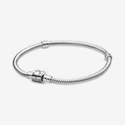 Pandora 598816C00 Schlangen-Gliederarmband Zylinder-Verschluss