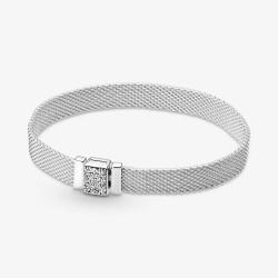 Pandora Reflexions 599166C01 Armband Funkelnder Verschluss Silber