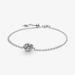 Pandora 599292C01 Gliederarmband Herz Familienstammbaum Silber