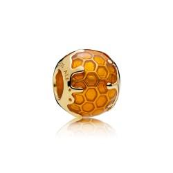 Pandora Shine 767120EN158 Charm Golden Honey Sterling-Silber 18-K-Gold