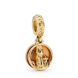 Pandora Disney Shine 768262ENMX Charm-Anhänger Simba & Mufasa Sunset Gold