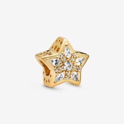 Pandora Shine 768466C01 Charm Himmlischer Stern Vergoldet