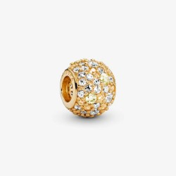 Pandora Shine 768646C01 Charm Damen Goldener Pave