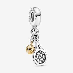 Pandora Shine 769026C01 Charm-Anhänger Tennisschläger Ball Silber