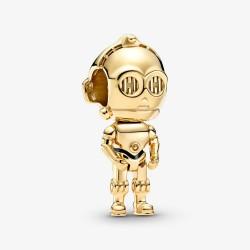 Pandora Star Wars 769244C01 Charm Damen C-3PO Vergoldet