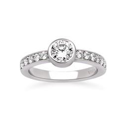 Viventy 769631 Damen-Ring mit Zirkonia Sterling-Silber Gr. 56
