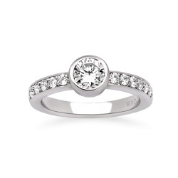 Viventy 769631 Damen-Ring mit Zirkonia Sterling-Silber