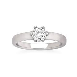 Viventy 769661 Damen-Ring mit Zirkonia Sterling-Silber Gr. 53