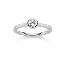 Viventy 769691 Ring Damen Swarovski-Zirkonia Sterling-Silber Gr. 56