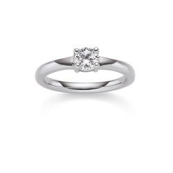 Viventy 769711 Ring Damen Swarovski Zirkonia Sterling-Silber Gr. 54