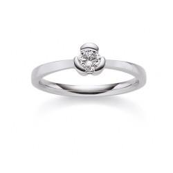 Viventy 769751 Ring Damen Swarovski Zirkonia Sterling-Silber Gr. 53