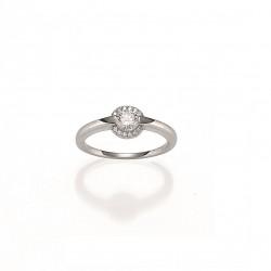 Viventy 774511 Ring Damen Zirkonia Sterling-Silber Gr. 54