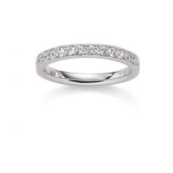 Viventy 775171 Ring Damen Swarovski Zirkonia Sterling-Silber Gr.54