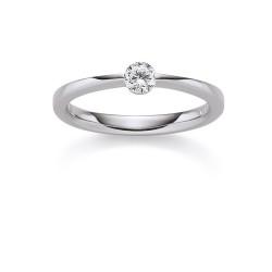 Viventy 775181 Ring Damen Swarovski Zirkonia Sterling-Silber Gr. 56