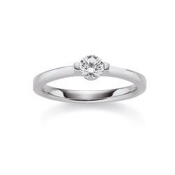 Viventy 775221 Ring Damen Swarovski Zirkonia Sterling-Silber Gr. 55