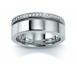 Viventy 779431 Ring Damen Zirkonia Sterling-Silber Gr. 54