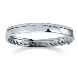 Viventy 779437 Armreif Damen 52 Zirkonia Sterling-Silber 19 cm