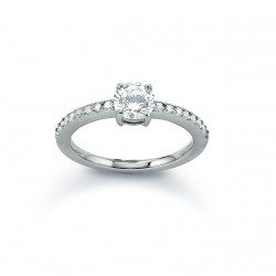 Viventy 779461 Damen-Ring Mit Zirkonia Silber Gr. 54