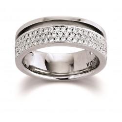 Viventy 780111 Ring Damen 71 Swarovski Zirkonia Sterling-Silber Gr. 58