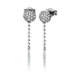 Viventy 780474 Ohrringe Ohrhänger Damen Zirkonia Sterling-Silber