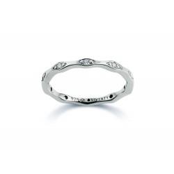 Viventy 781591 Ring Damen Swarovski-Zirkonia Sterling-Silber Gr. 56