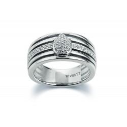 Viventy 781701 Ring Damen Swarovski-Zirkonia Silber Gr. 54