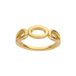 Viventy 781991 Ring Damen Matt Silber Vergoldet Gr. 54