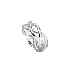 Viventy 782221 Ring Damen Verdrehte Bänder Silber Gr. 56
