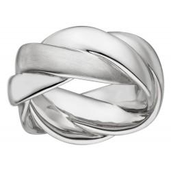 Viventy 782651 Ring Damen Verdrehte Bänder Sterling-Silber Gr. 56