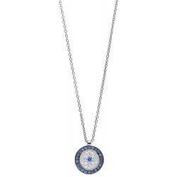 Viventy 782698 Halskette mit Anhänger Damen Zirkonia Silber
